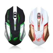лучшая цена Rechargeable Wired Silent LED Backlit USB Optical Ergonomic Gaming Mouse Six Key Computer USB Game Mouse for Laptop PC