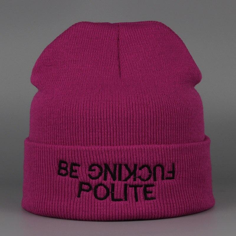 Hot Sale Winter Hat Cap Beanie Wool Knitted Men Women Caps Hats Letter embroidery Skullies Warm Beanies Unisex rwby letter hot sale wool beanie female winter hat men