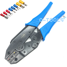 Crimping-Tool Cable-Terminals Press Butt-Connectors Ratchet LS-03D Insulated for 20-10AWG