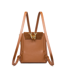 Leather Mini Women Backpack