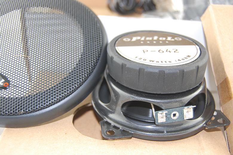 Kiváló hangkocsi Kis hangsugárzó hangszóró P642 mélysugárzó - Autóelektronika - Fénykép 2