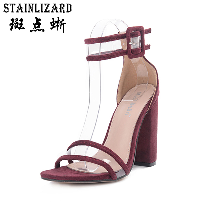 2018 Fashion Women Pumps Summer Shoes T-stage Dancing Buckle High Heel Sandals Wedding Shoes Sexy Party Ladies Heels YBT709 siketu 2017 free shipping spring and autumn women shoes fashion sex high heels shoes red wedding shoes pumps g107