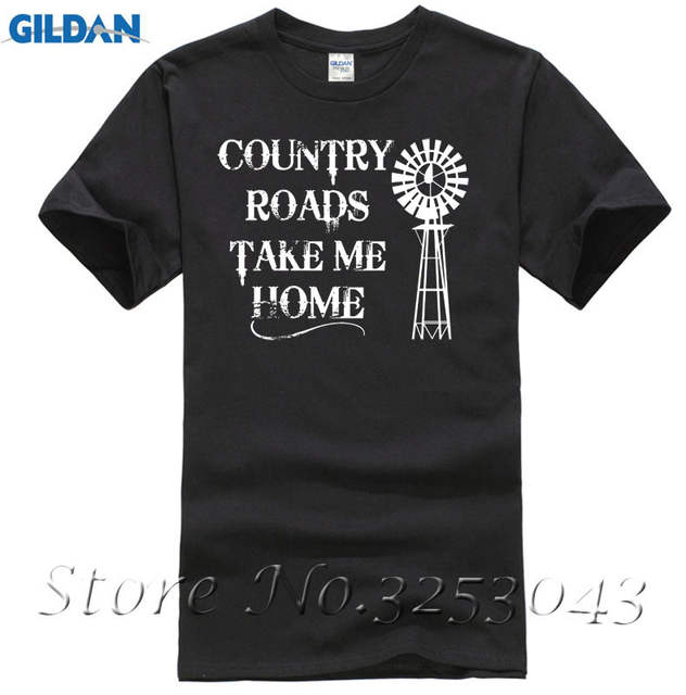 385cf912f placeholder Country Roads Take Me Home Short Sleeve T Shirt Country Music  Graphic Tee