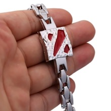 DOTA 2 Bracelet Hot Game Chain Link Charm Bracelets Bangle Cosplay Jewelry Men Women pulseira masculina