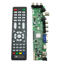 DS.D3663LUA.A81 DVB-T2 DVB-T DVB-C digital TV LCD/LED driver board 15-32 inch Universal LCD TV Controller Driver Board 3663 2pcs lot mst6m181vs lf z1 tv led lcd driver chip
