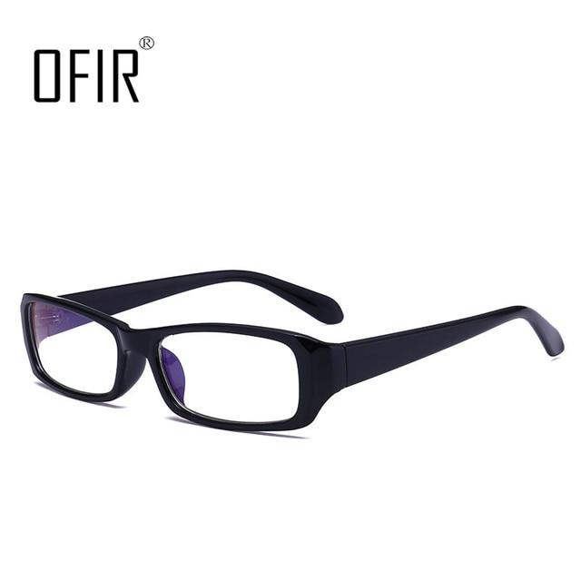 65ba0eab48d ODIR Fashion Men Women Square Eye Glasses Frames Unisex Optical Print  Glasses PC Computer anti-radiation Eyewear Accessories