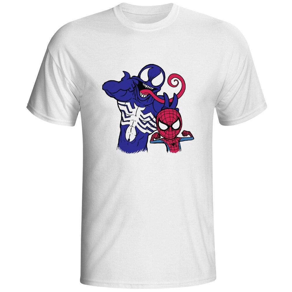 Spider Brotherhood T Shirt Super Hero Pop Creative Funny T Shirt