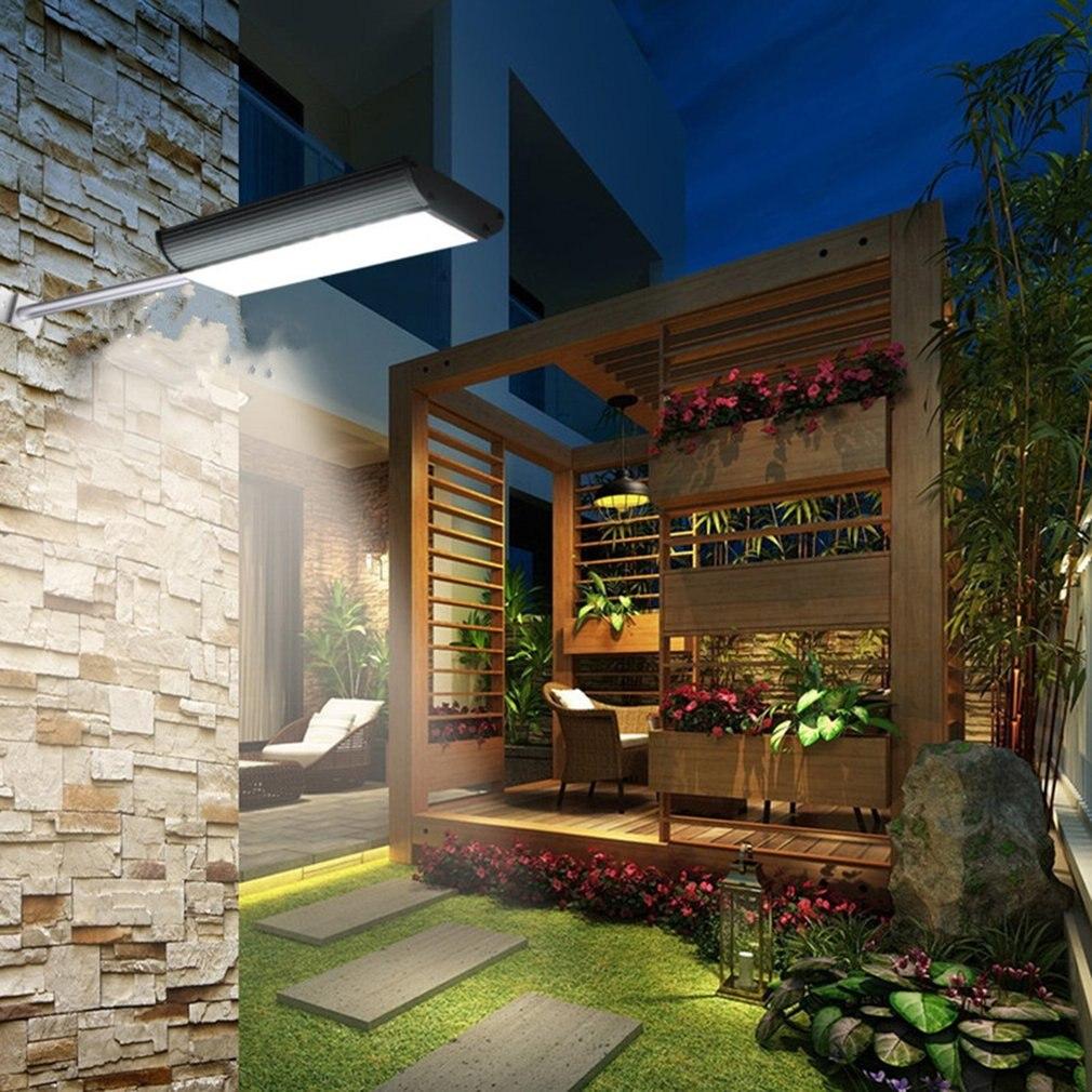 Solar 70 LED Motion Sensor Light Outdoor Garden Path Street Wall Lamp Waterproof With Remote Control cmi 5w 12v 40lm 6000k 3 led motion control waterproof white light solar wall lamp black