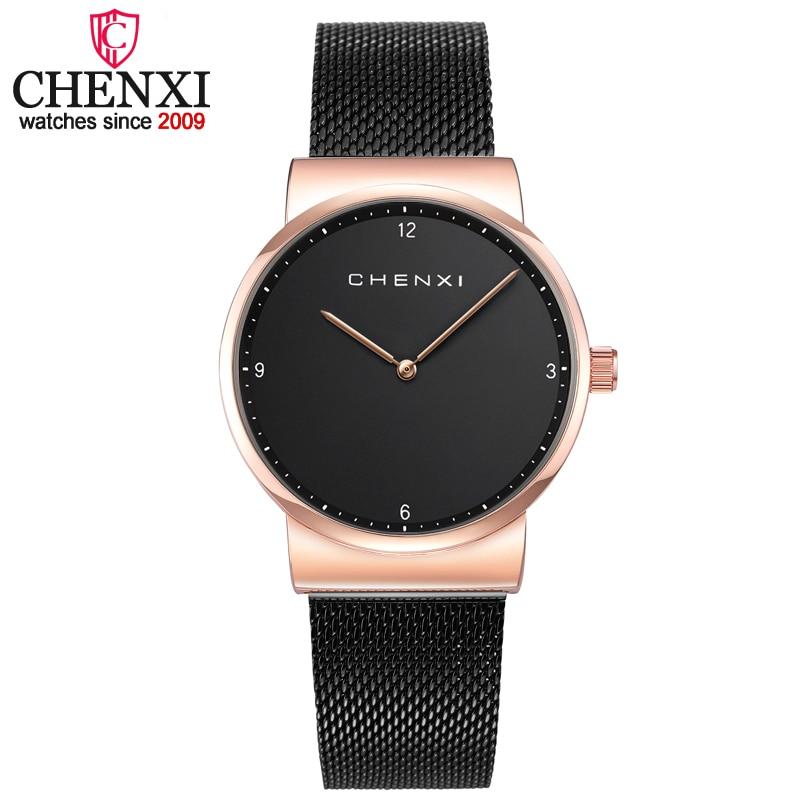 CHENXI Women High Quality Fashion Minimalism Casual Women Watches Quartz Wristwatch for Lady Luxury Dress Ladies montre femme
