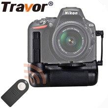 Travor Вертикальная Батарейная ручка держатель для Nikon D5500 D5600 DSLR камеры с ИК функцией работы с EN-EL14a батареей