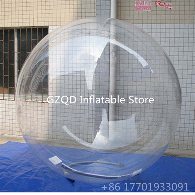 2m Water Park Walking Water Ball Inflatable Human Inside Dacing Balloon Zorb Hamster Balloon Running Water Bubble Ball 2018 inflatable air water walking ball water rolling ball water balloon zorb ball inflatable human hamster dance plastic ball
