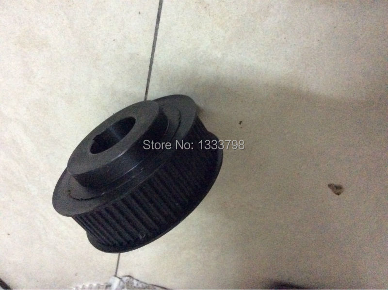 Black finish 25T HTD5M pulley 20mm width 2*M4 screw cheap price Black finish 25T HTD5M pulley 20mm width 2*M4 screw cheap price