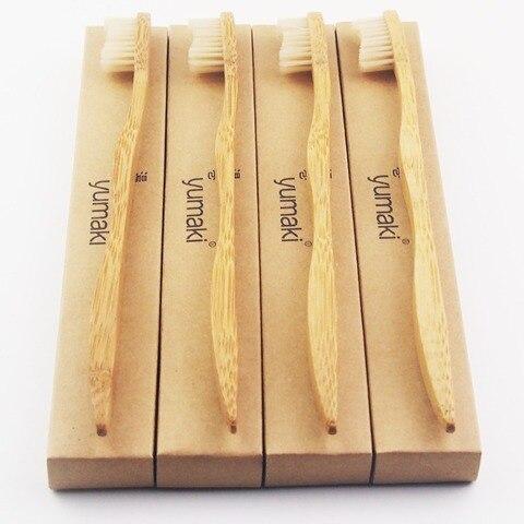50 pecas de bambu pintado feito de