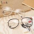 Novos Grandes Óculos de Armação de Aviador Retro Óculos de Armação Dos Óculos Claros Óculos Armação de Óculos Óptica Óculos de Computador Do Vintage Unisex Oculos