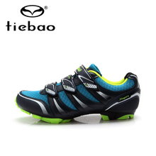 Tiebao Hot Sale MTB Bike Shoes Men Outdoor Cycling Athletic Shoes Mountain Non-slip Bicycle Shoes Auto-lock Shoes ciclismo