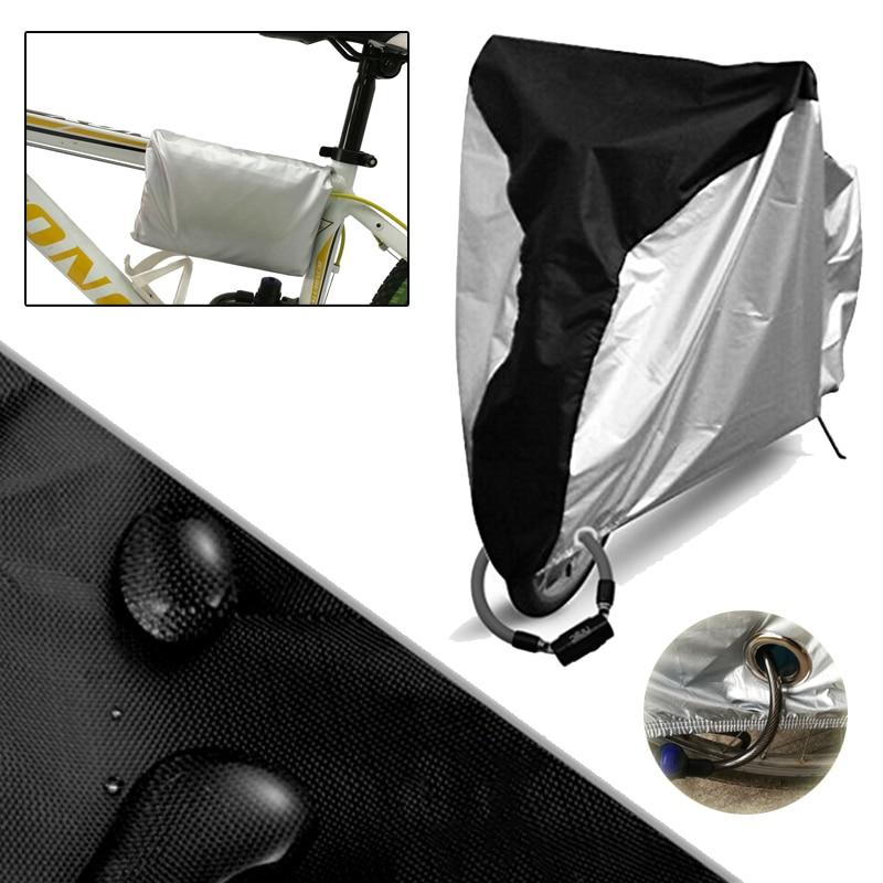 WOSAWE Bicicleta Capa de Poeira Chuva Neve Sol Protetor Motocicleta Bicicleta de Ciclismo Ao Ar Livre UV Protetor À Prova de Chuva À Prova D' Água