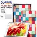 Магнит Кожаный Чехол Stand Case для Asus Zenpad 8.0 Z380 Z380C Z380KL Tablet + Защитные пленки + Стилус