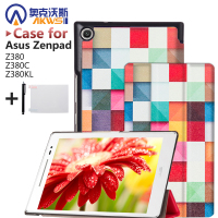 Magnet Leather Cover Stand Case For Asus Zenpad 8 0 Z380 Z380C Z380KL Tablet Screen Protectors