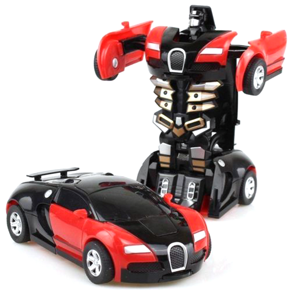 Transformation Model  Robot Car Transforming Kids Toy Toddler Auto Robots Cool Toy For Boys Birthday Car Toys For Children