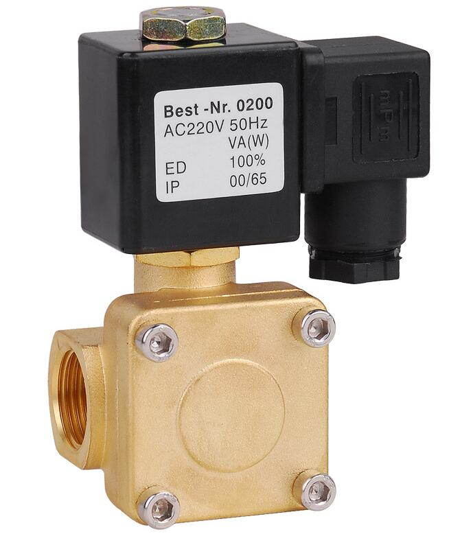 3/8  Normally Closed 2/2 Way General Purpose brass Solenoid Valve 0927100 1 2 2 2 way direct general service timer solenoid valve