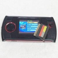 100 шт. Портативный видео игры портативной консоли с 5 в 1 Mutigames и AV кабель для sega MD Mega Drive