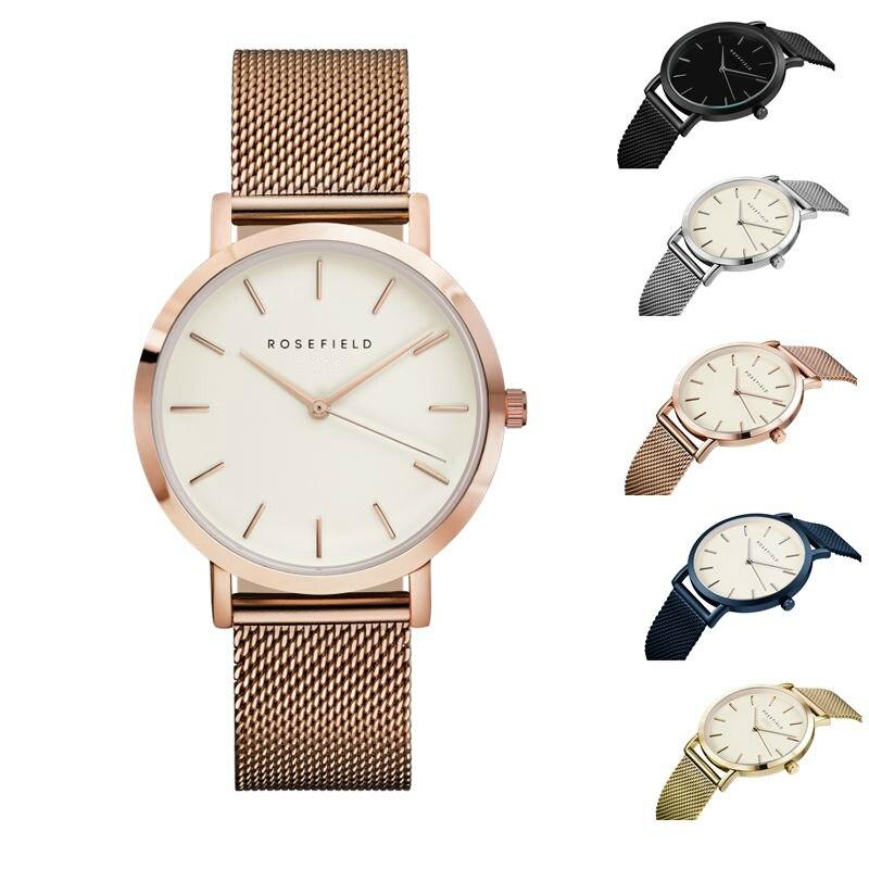 Top Brand ROSEFIELD Quartz Women Watch Top Brand Watches Fashion Casual Fashion Wrist Watch Relogio feminino