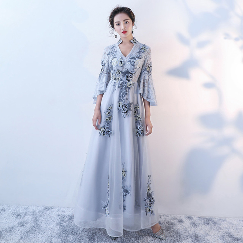 Us 59 5 30 Off 2019 Korean Version Of The New Slim Fashion Dress Celebrity Evening Performance Birthday Party Gown In Dresses From