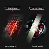 Floveme магнитный держатель для телефона в машину Универсальный автомобильный держатель 360 градусов магнитного автомобильный держатель телефона для GPS в автомобиль вентиляционное отверстие магнитным