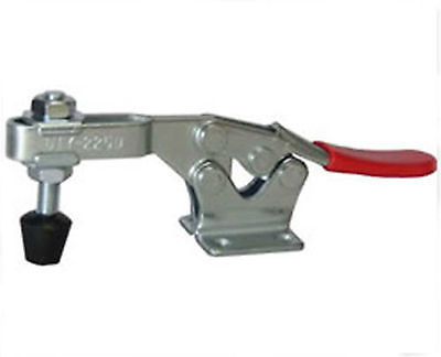 250Kg Holding Capacity Quick Release Horizontal Toggle Clamp Hand Tool 225D nrh 5619a 230 cold rolled steel latch clamp wholesale price high quality horizontal pull toggle clamp zinc plating