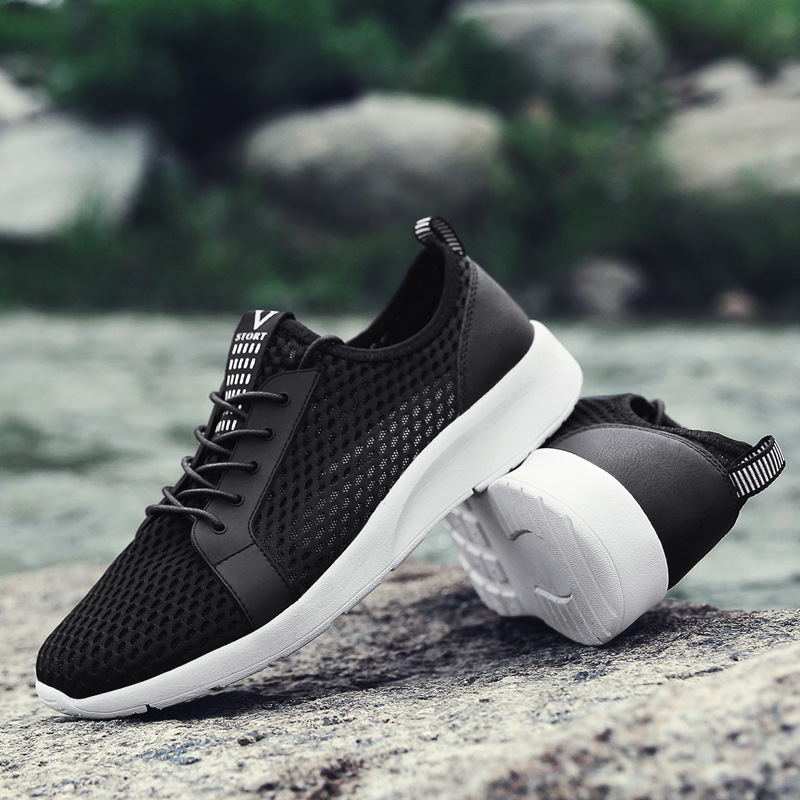 2018 FJUN Running Shoes For Men Air Mesh High Quality Breathable Sneakers Outdoor Sports Entertainment Cushioning Shoes RZ12