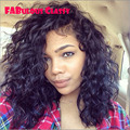 Superior 8A suelta la onda llena del cordón del pelo humano pelucas para negro mujeres pelucas baratas del pelo brasileño glueless pelucas llenas del cordón del envío libre