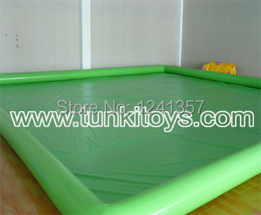 Aqua large inflatable pool for water balls