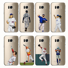 soft silicone phone cases cover baseball cartoon Bryce Harper for Samsung Galaxy Note 8 9 c7 c9 c5 S6 S7 S8 S9 s10  plus