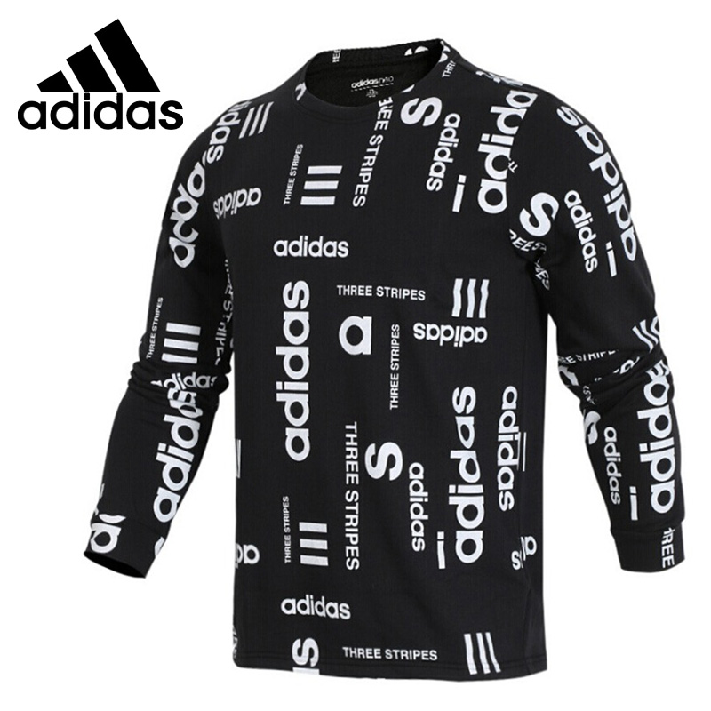 Original New Arrival Adidas Neo Label M FAV SWEATSHRT Men s Pullover Jerseys Sportswear