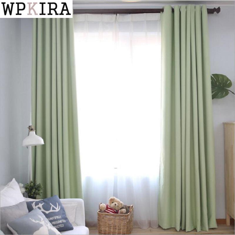 cortinas del dormitorio color slido japn tela blackout persianas de imitacin moderna sala de estar cortinas