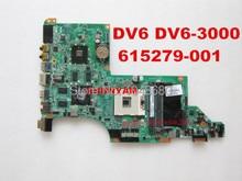 Wholesale 615279-001 Pavilion DV6 DV6-3000 laptop motherboard DA0LX6MB6G2 REV : G systemboard Tested 90 Days Warranty