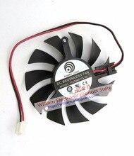 Новый оригинальный для Графика карты вентилятор охлаждения PLD06010S12L 60*60*10 мм 12 В 0.20A Диаметр 55 мм шаг 39 мм