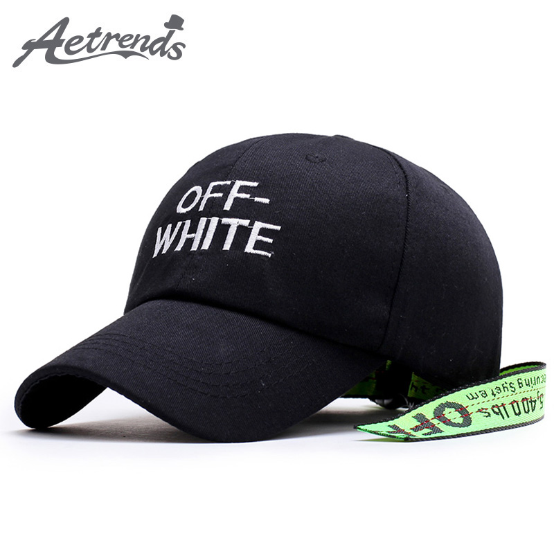 [AETRENDS] Black Cap New Snapback Baseball Cap Men Women Hats 2017 Bone Racing Hat with Line casquette Z-5884 2016 new new embroidered hold onto your friends casquette polos baseball cap strapback black white pink for men women cap