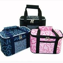 Isolierte Mittagessen Taschen Für Frauen Kinder Lunchbox Verdickt multifunktionale Mittagessen box Lancheira bolsa termica ALB387A