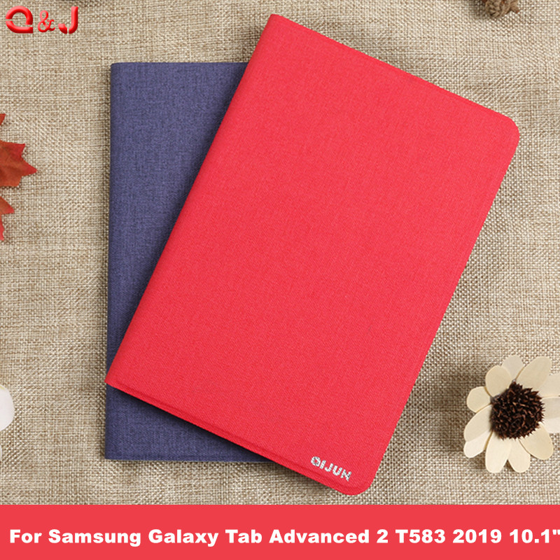 "Case for Samsung Galaxy Tab Advanced 2 T583 2019 Released 10.1"" Magnetic Tablet Protect Case for SM-T583 10.1"" Case Cover"