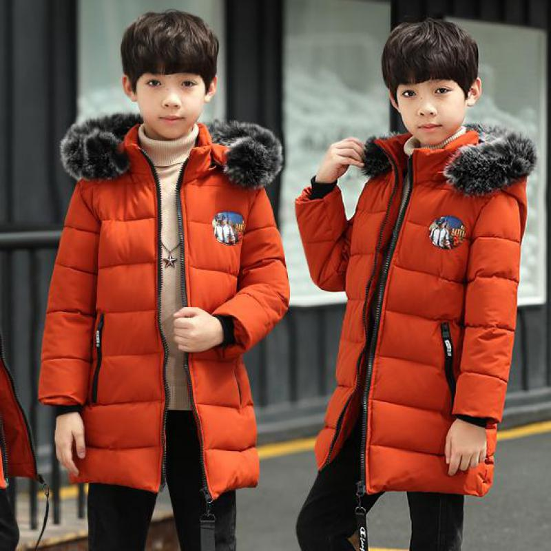 Toddler Boys Winter Coat Hooded Children Down Baby Boy Winter Jacket Boys Kids Warm Outerwear Parks Christmas Clothes Snowsuits цена 2017