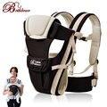 2-30 meses respirável multifuncional frente virada baby carrier infantil confortável sling backpack pouch envoltório do bebê canguru