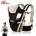 2-30 meses transpirable multifuncional frontal frente a la porta bebé sling backpack infantil cómodo pouch abrigo del bebé canguro