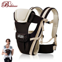 2 30 Months Breathable Multifunctional Front Facing Baby Carrier Infant Comfortable Sling Backpack Pouch Wrap Baby