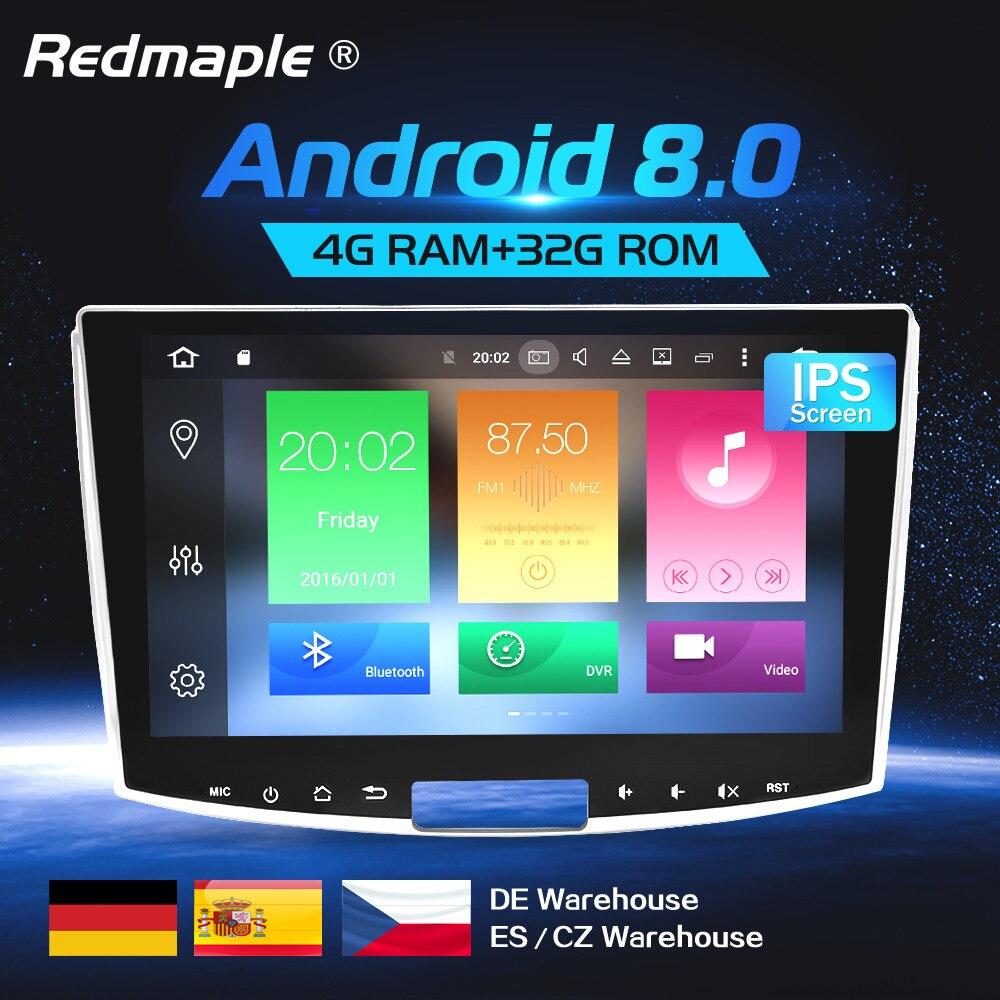 4G RAM Octa Core Android8 0 Car Radio GPS Multimedia Stereo For Volkswagen Passat B6 B7