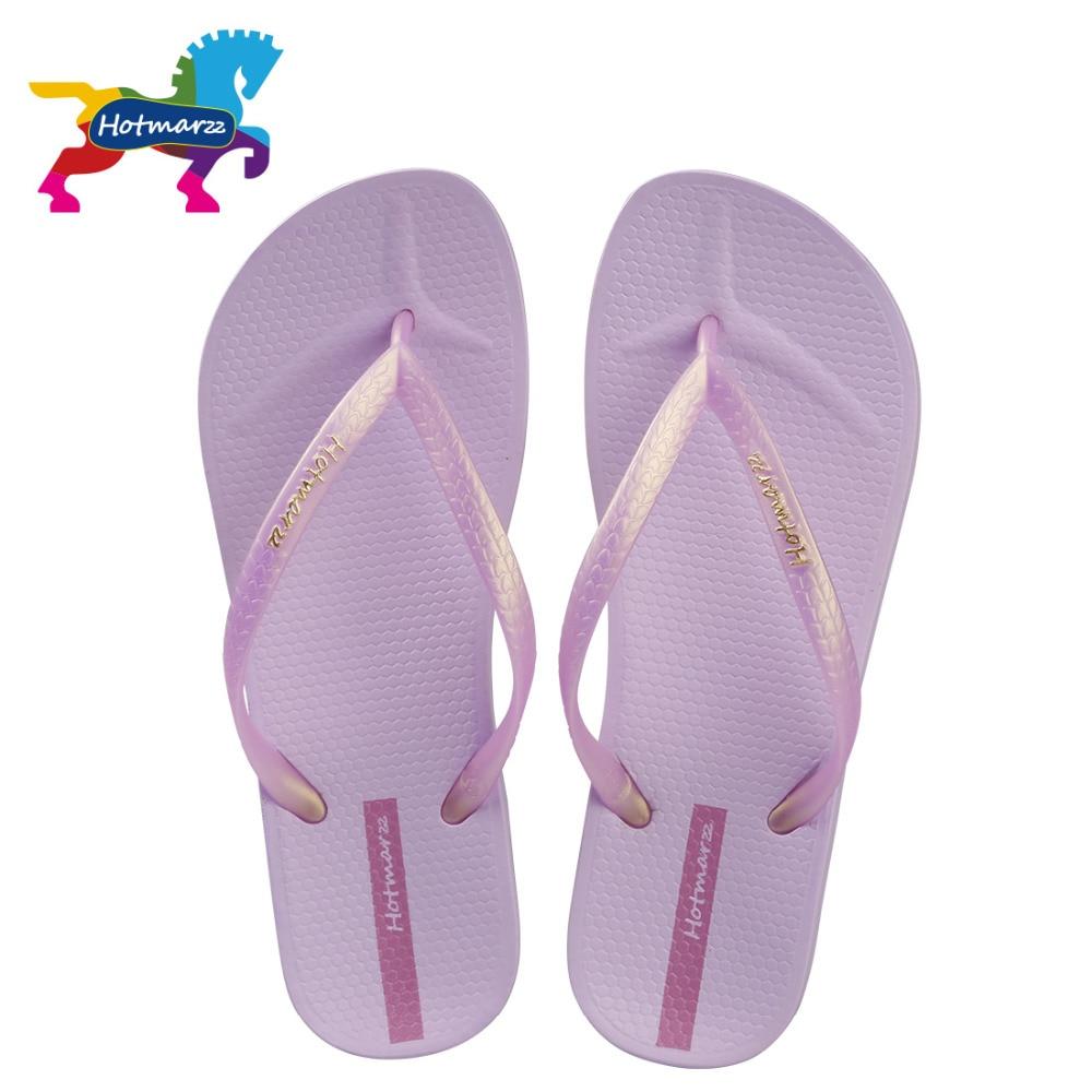 Hotmarzz Women Slim Flip Flops Ladies Beach Slippers Fashion Summer Sandals Pool Shower Shoes women slippers summer beach slippers flip flops sandals women pearl fashion slippers ladies flats shoes free shipping