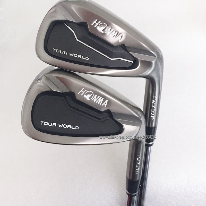 New Cooyute Golf Clubs HONMA TW737P Golf Irons set 3-11 Sw N S.PRO 950 R Steel shaft Golf shaft Clubs Irons Set Free shipping golf 3 td 2011