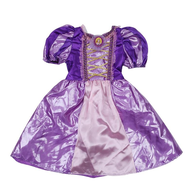 Meisjes Sparkly Prinses Rapunzel Kostuum Met Karakter Cameo - Carnavalskostuums - Foto 2