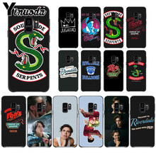 Yinuoda American TV Riverdale Painted LOGO Fundas Phone Case Cover For Samsung Galaxy s9 s8 plus note 8 note9 s7 S10lite