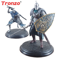 Tronzo 18cm Dark Souls PVC Action Figures Collectible Model Toy ARTORIAS DXF Faraam Knight Collect Dolls